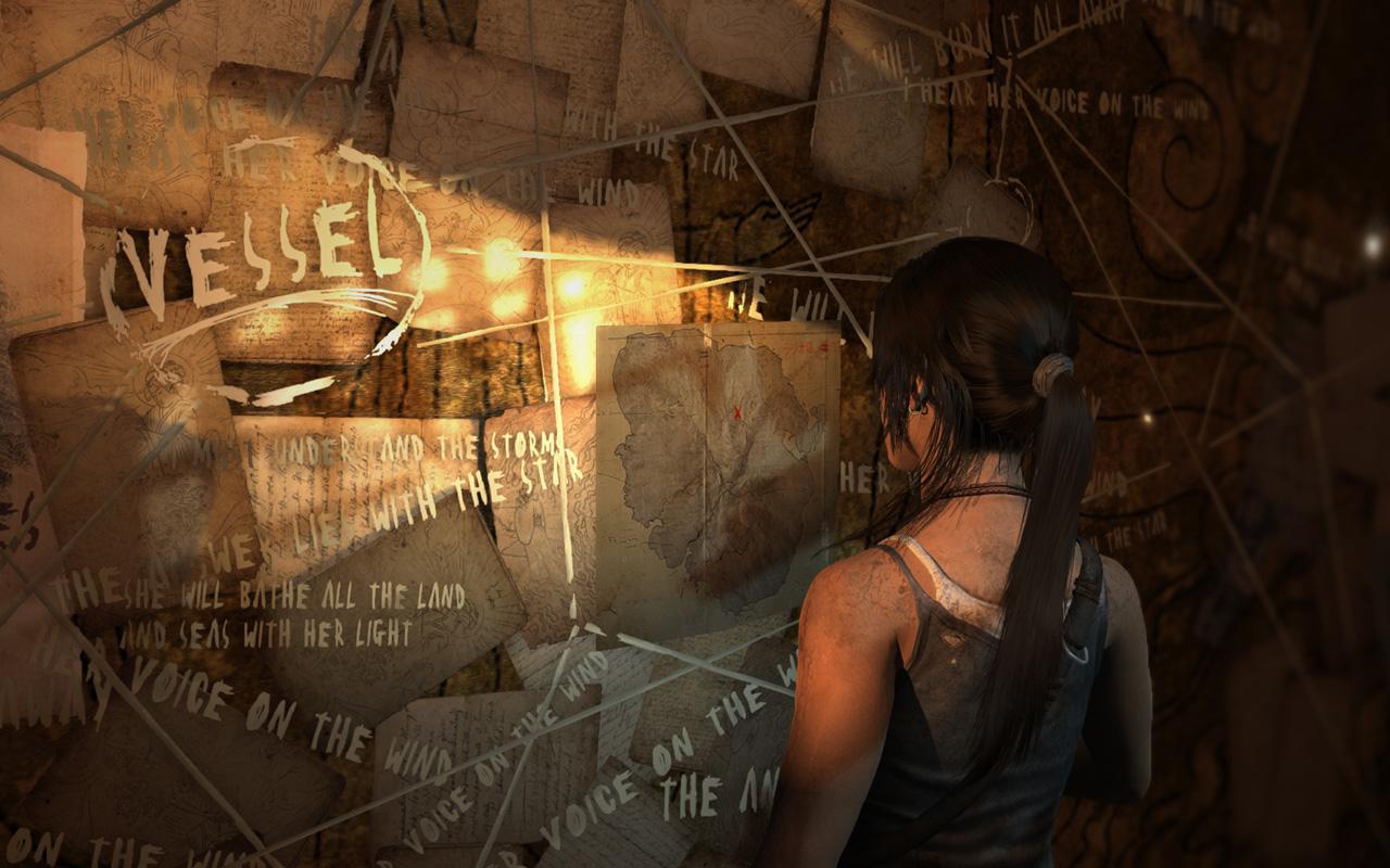 Tomb Raider Wallpaper in 1280x800