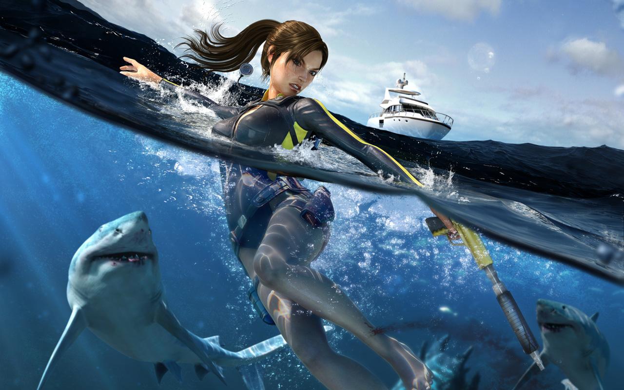 Free Tomb Raider: Underworld Wallpaper in 1280x800
