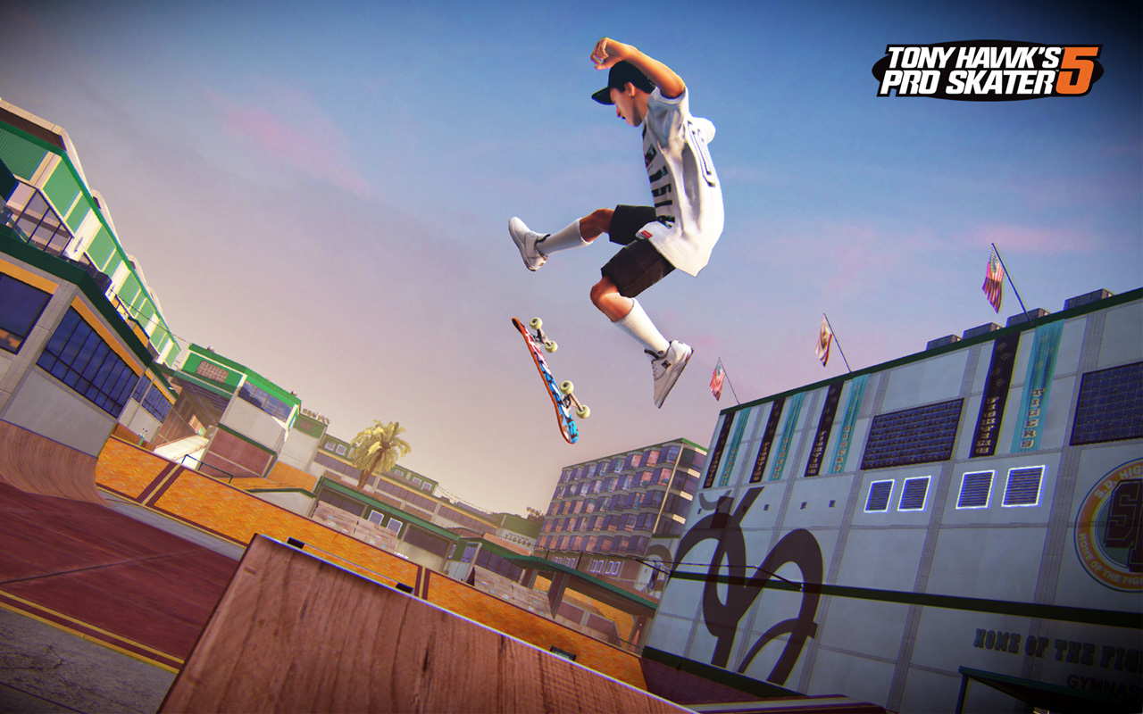 Free Tony Hawk's Pro Skater 5 Wallpaper in 1280x800