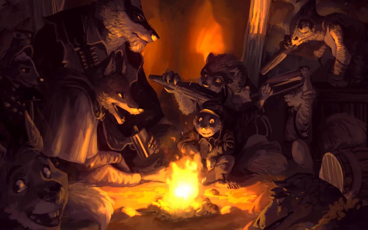 Free Tooth and Tail Wallpaper in 1280x800