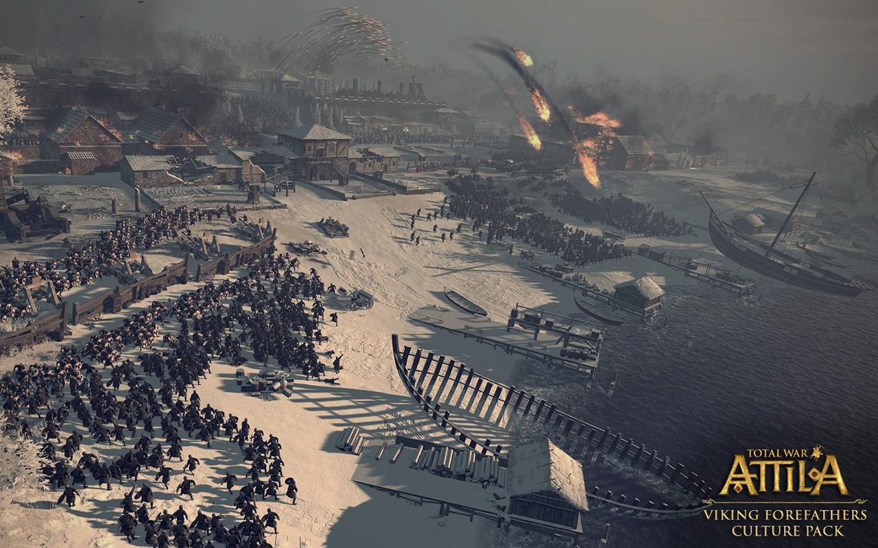 Free Total War: Attila Wallpaper in 1280x800