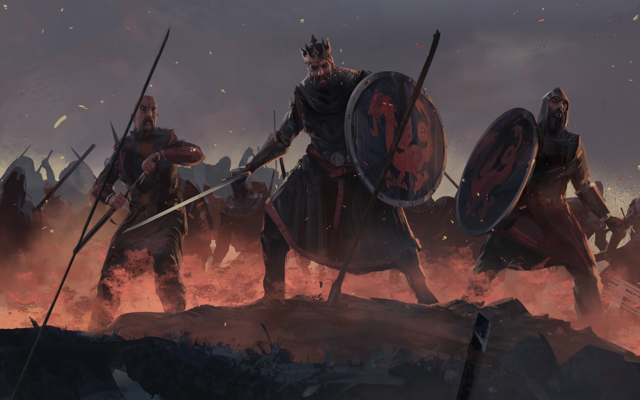 Free Total War Saga: Thrones of Britannia Wallpaper in 1280x800