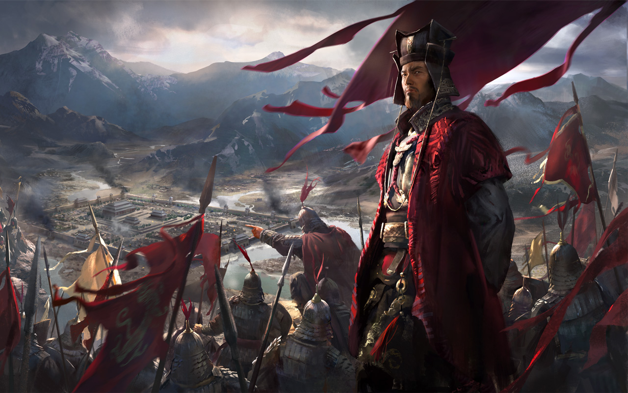 Free Total War: Three Kingdoms Wallpaper in 1280x800
