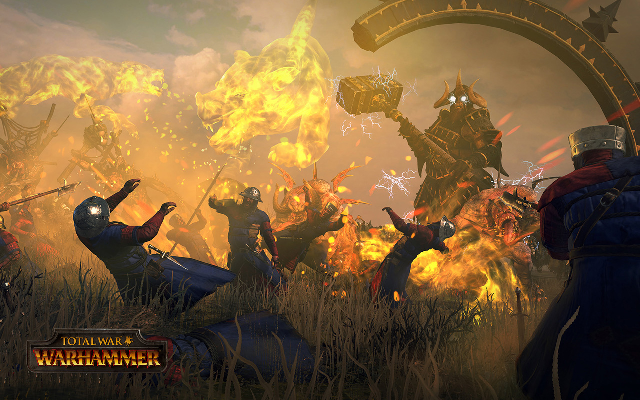 Free Total War: Warhammer Wallpaper in 1280x800