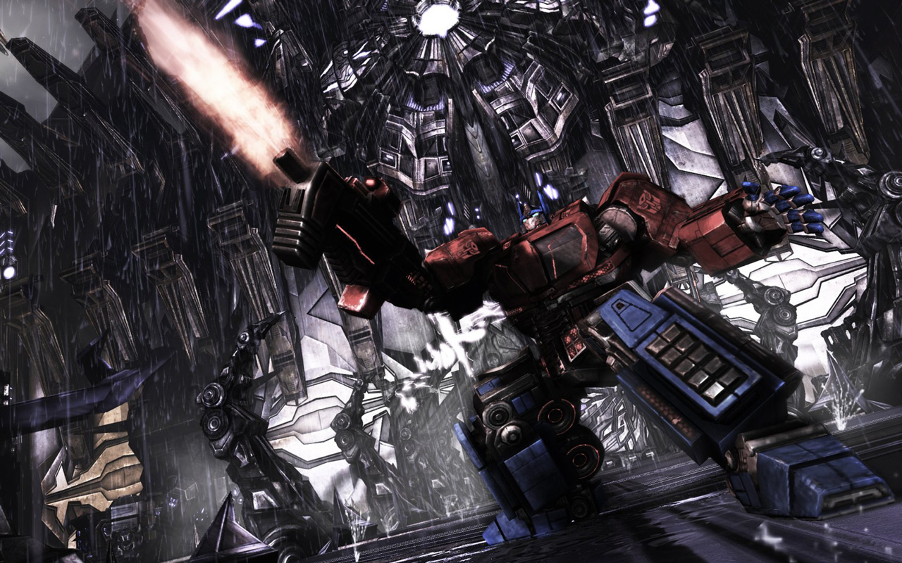 Free Transformers: War for Cybertron Wallpaper in 1280x800