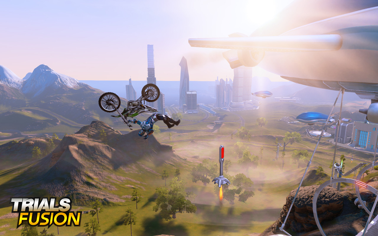 Free Trials Fusion Wallpaper in 1280x800