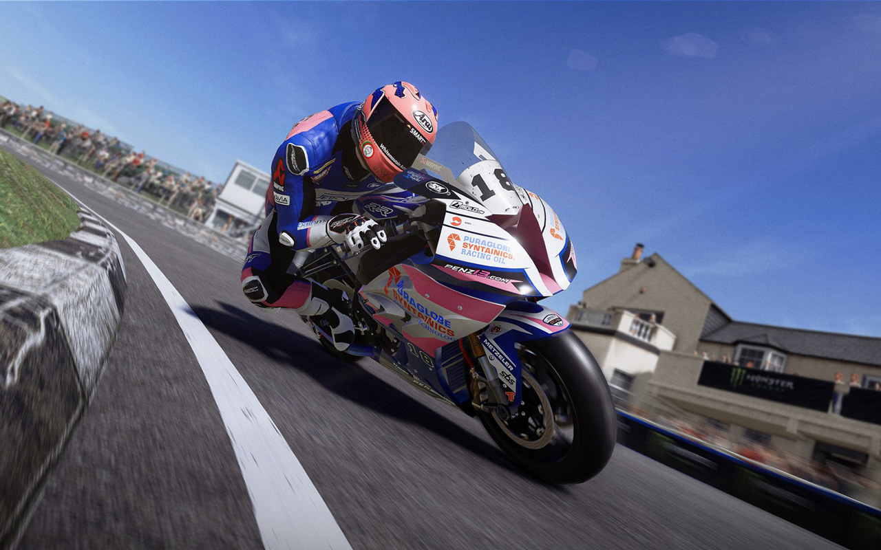 Free TT Isle of Man: Ride on the Edge 2 Wallpaper in 1280x800