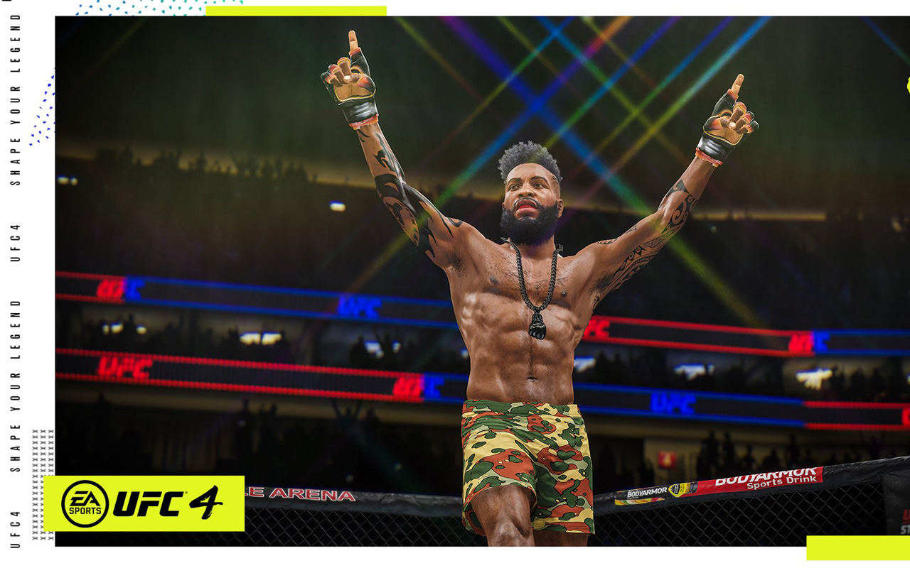 Free UFC 4 Wallpaper in 1280x800