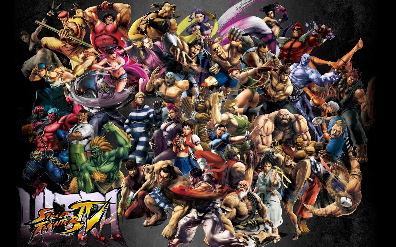Ultra Street Fighter IV Wallpaper in 1280x800