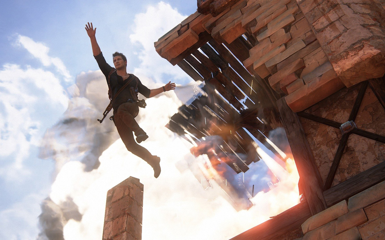 Free Uncharted 4: A Thief's End Wallpaper in 1280x800