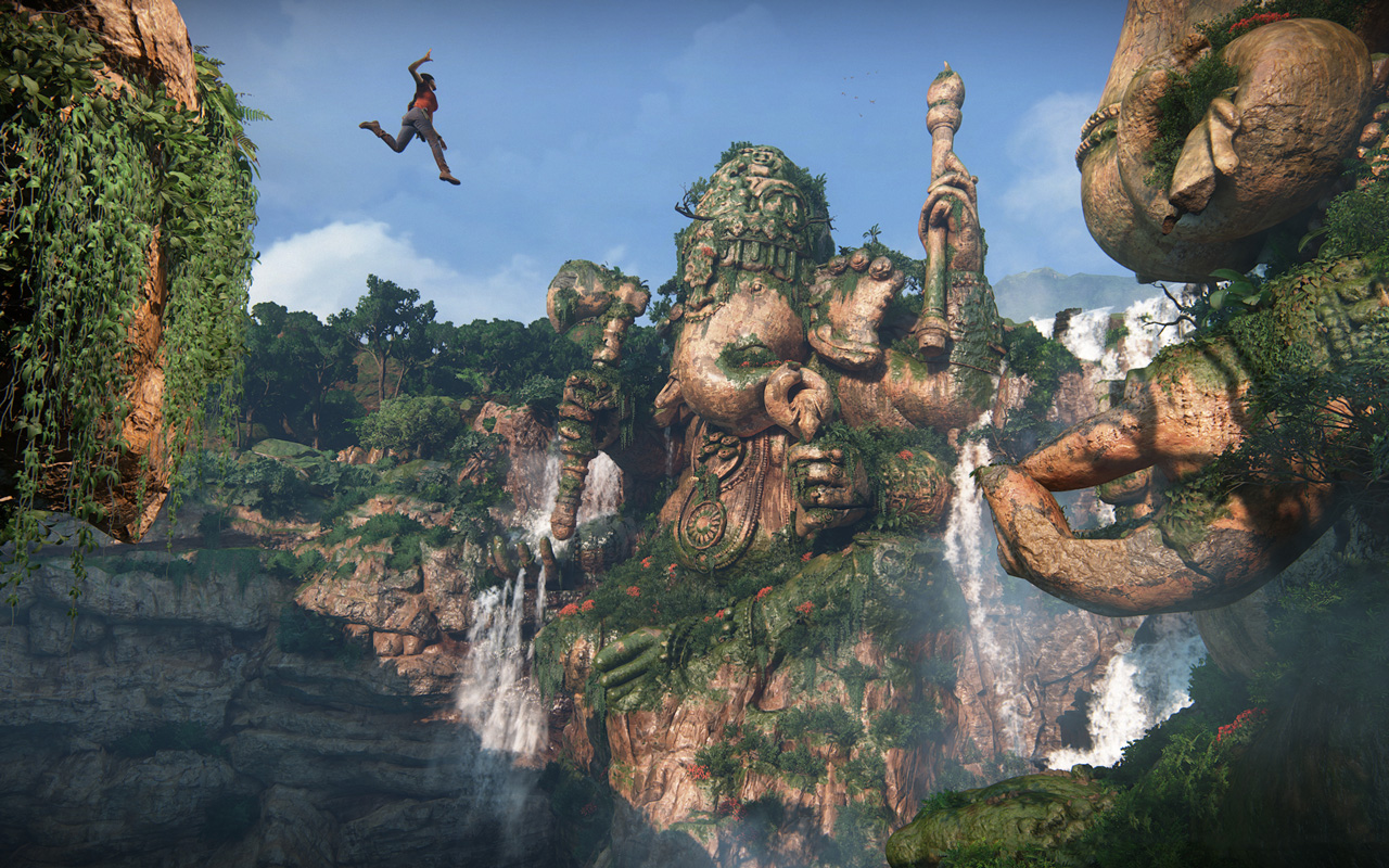 Free Uncharted: The Lost Legacy Wallpaper in 1280x800