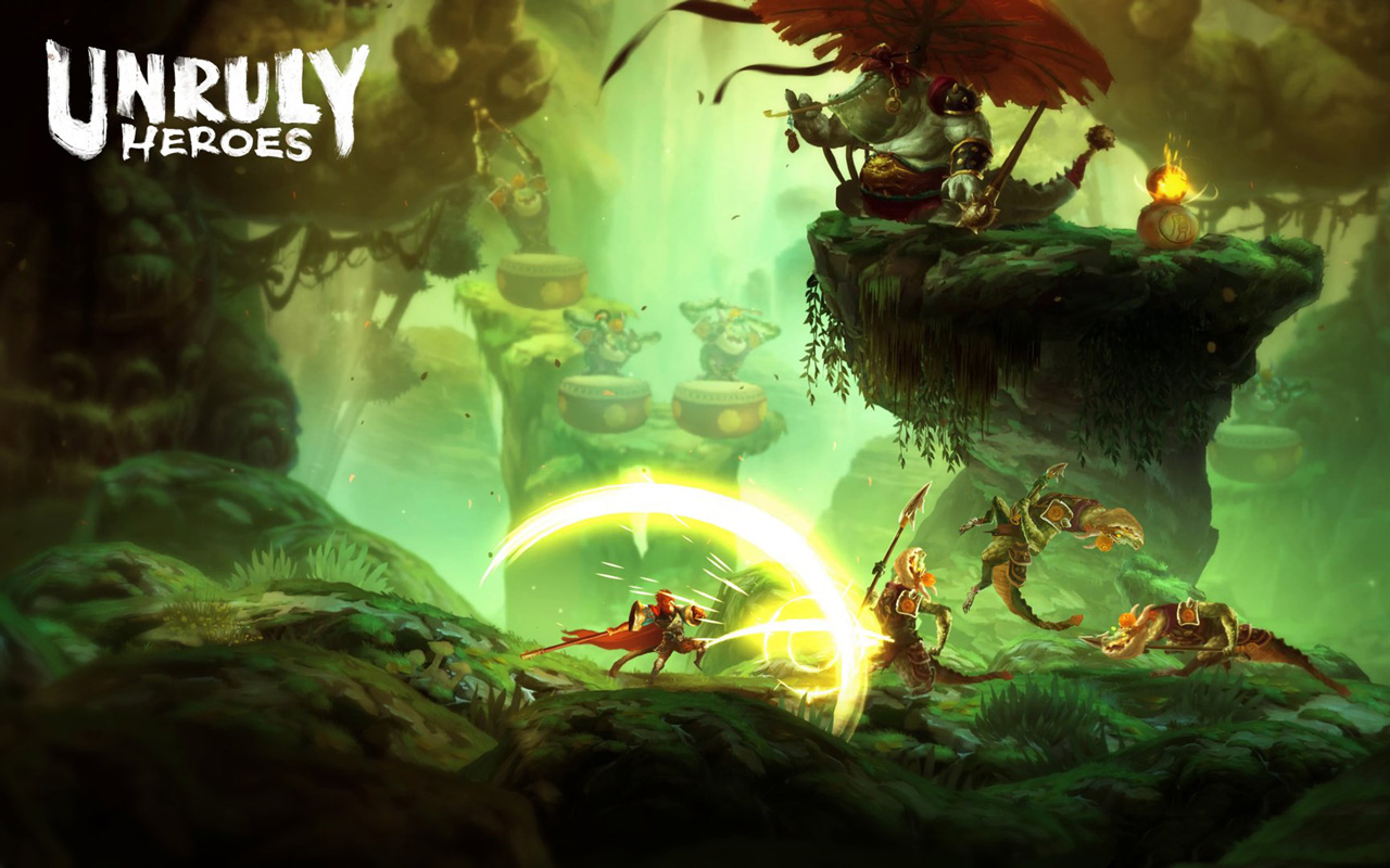 Free Unruly Heroes Wallpaper in 1280x800