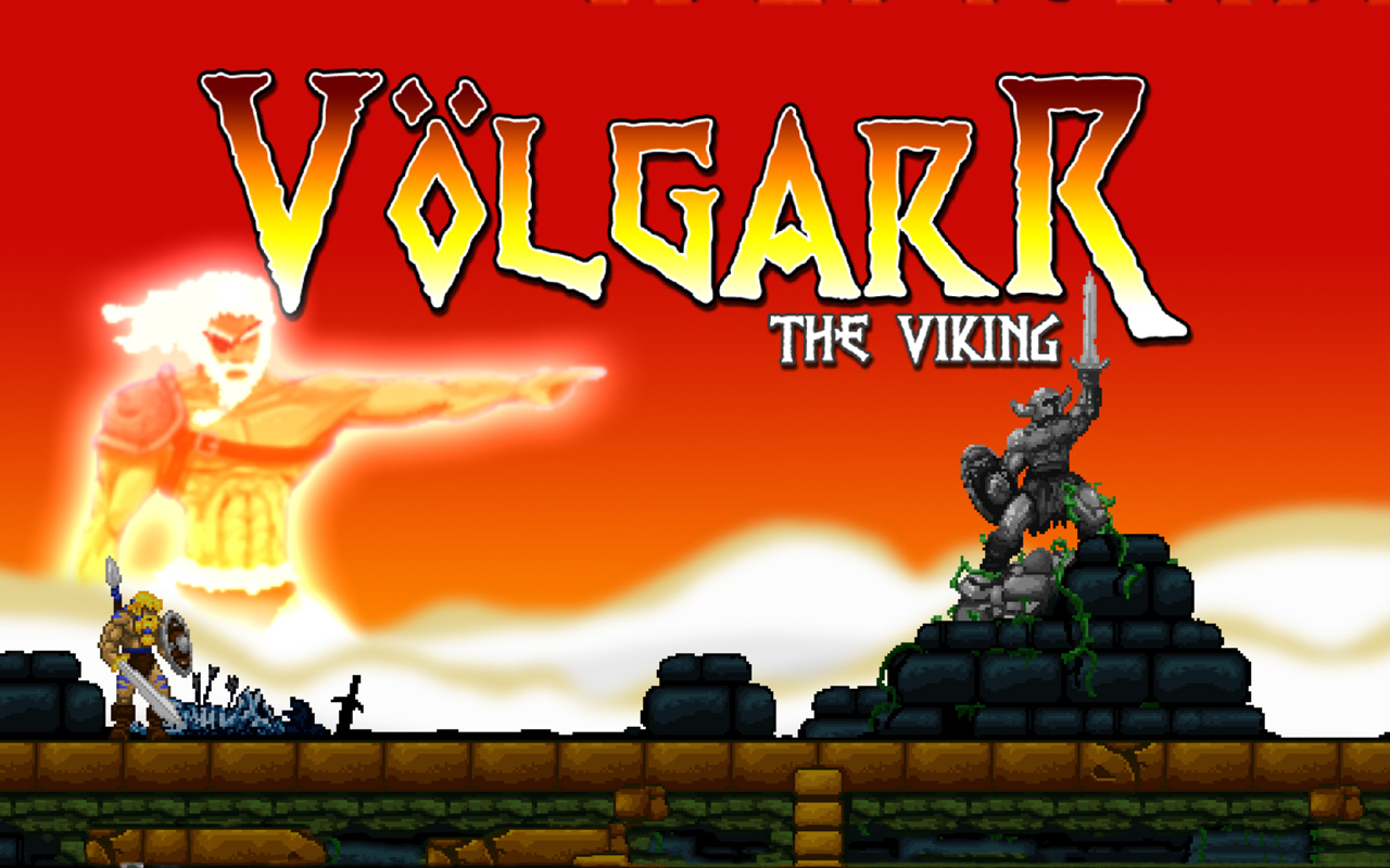Free Volgarr the Viking Wallpaper in 1280x800