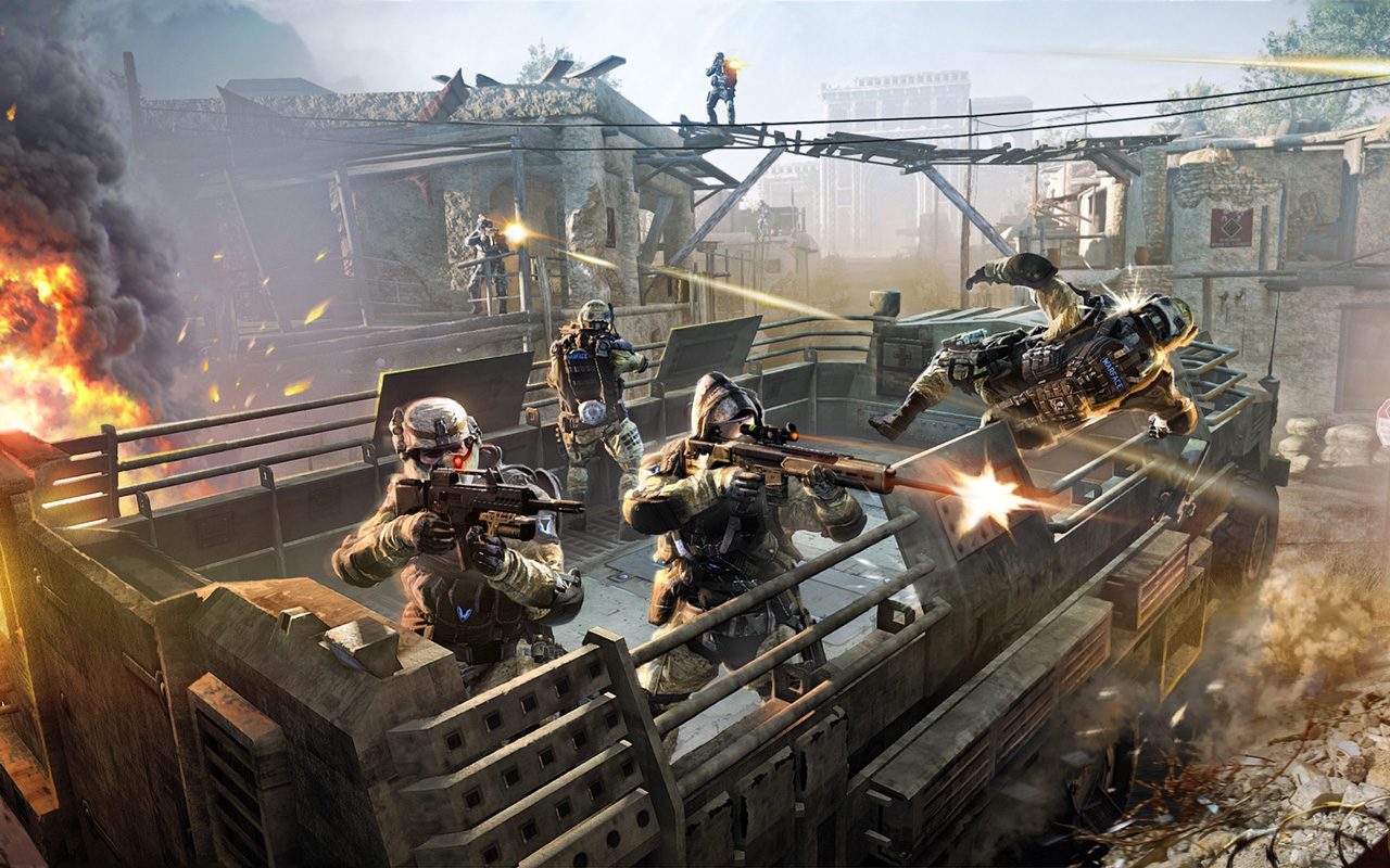 Free Warface Wallpaper in 1280x800