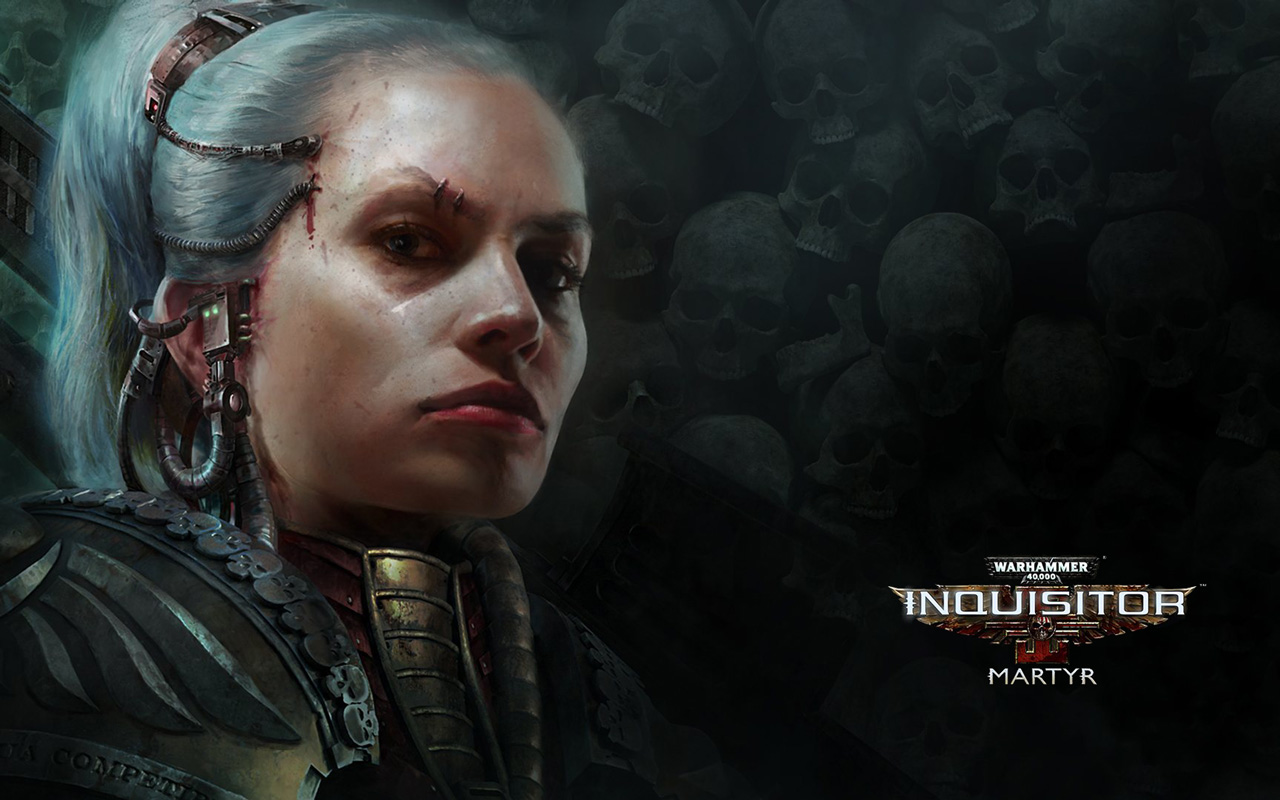 Free Warhammer 40000: Inquisitor - Martyr Wallpaper in 1280x800