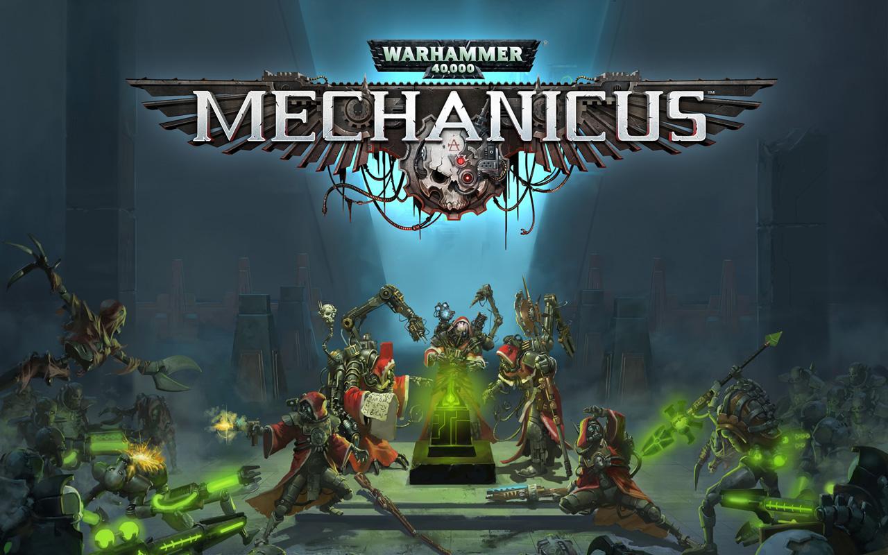 Free Warhammer 40000: Mechanicus Wallpaper in 1280x800