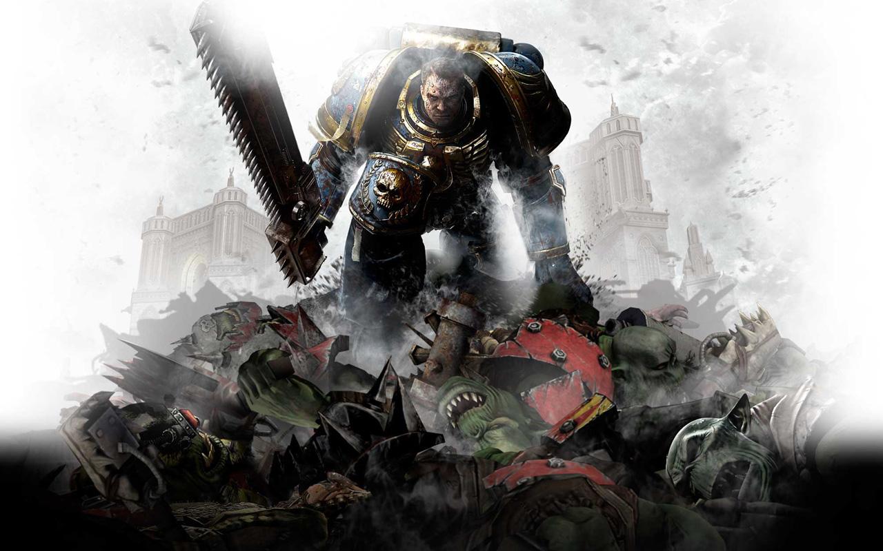Free Warhammer 40000: Space Marine Wallpaper in 1280x800