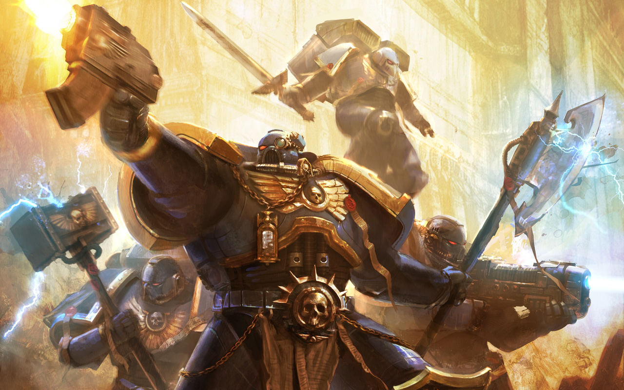 Free Warhammer 40000: Space Marine Wallpaper in 1280x800
