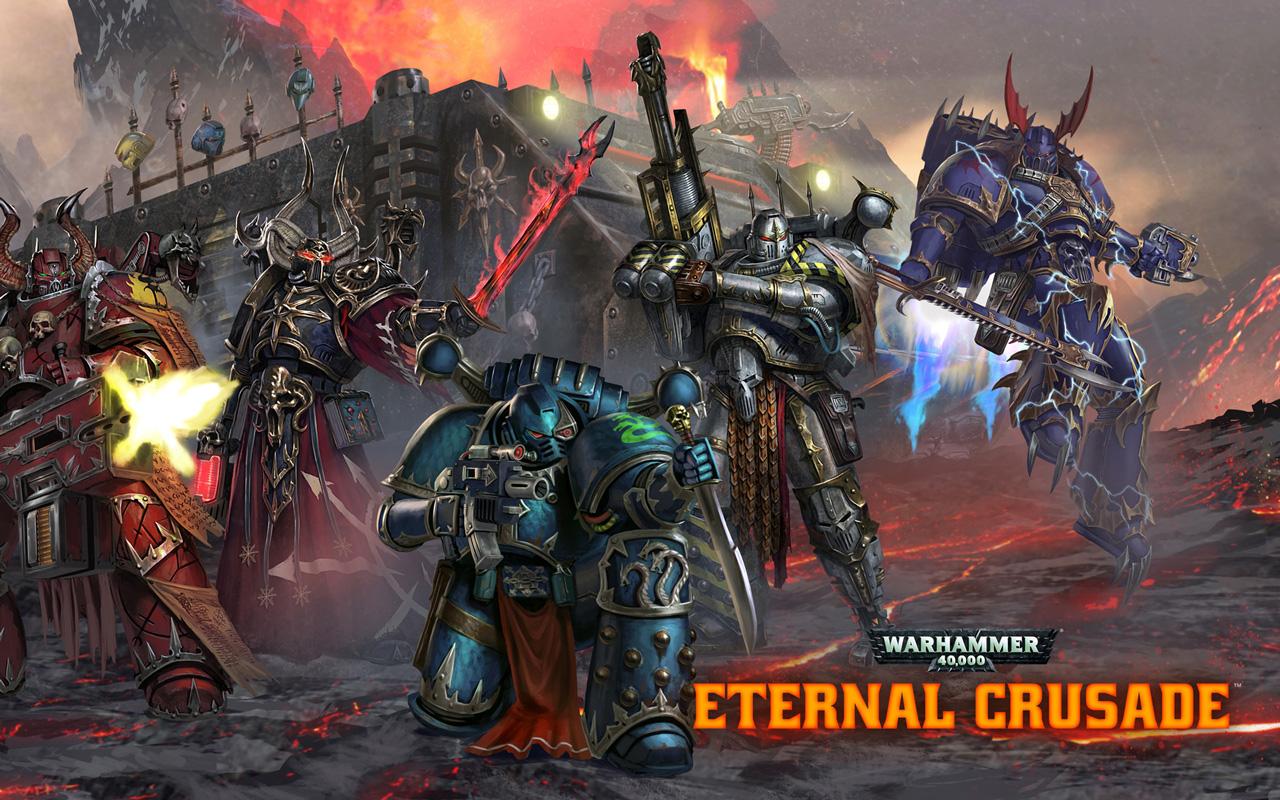 Free Warhammer 40000: Eternal Crusade Wallpaper in 1280x800