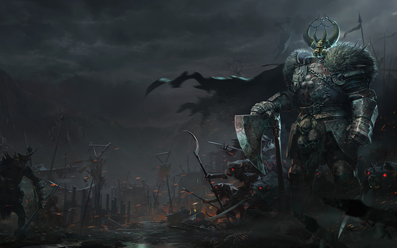 Free Warhammer End Times: Vermintide II Wallpaper in 1280x800
