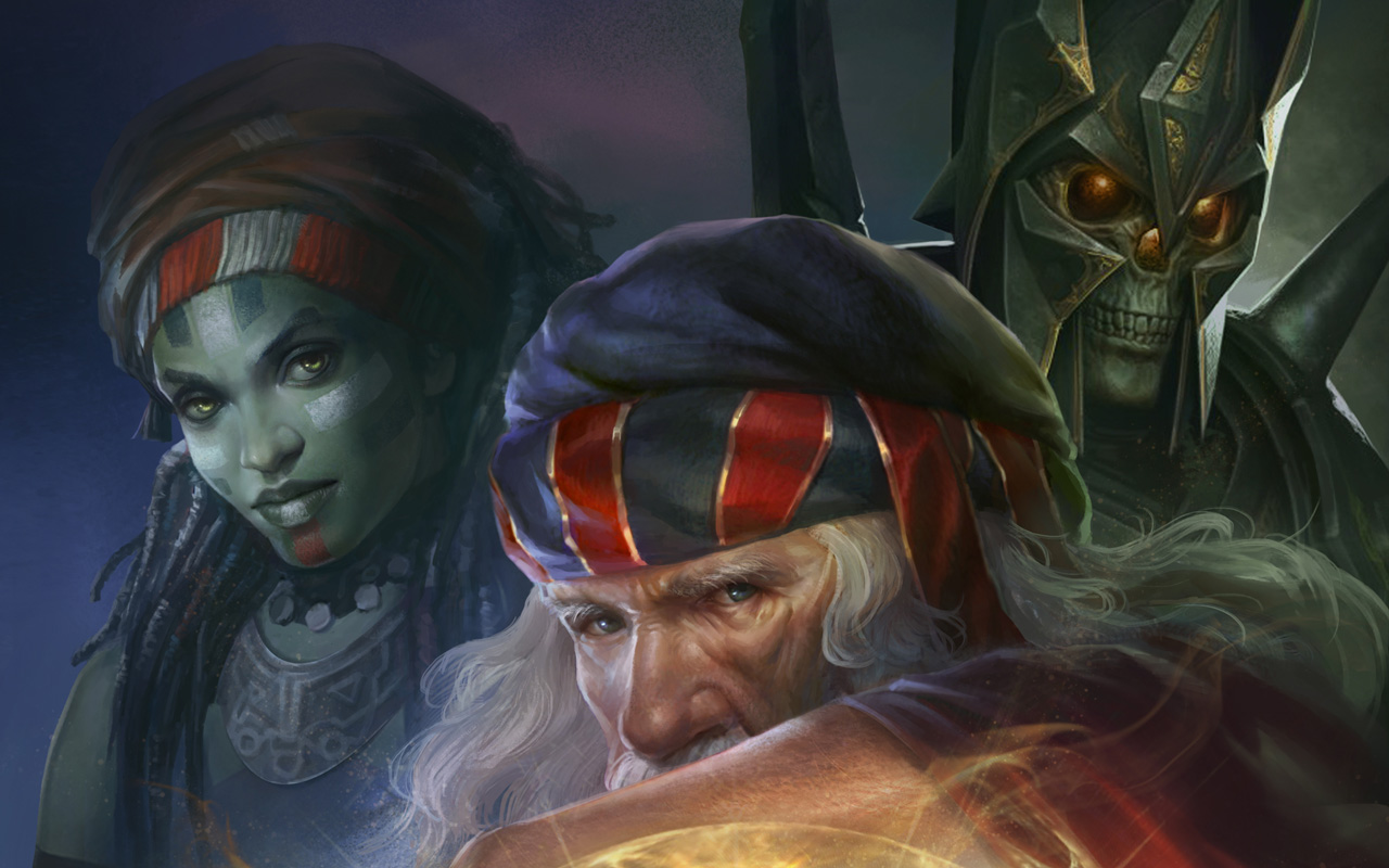 Free Warlock 2: The Exiled Wallpaper in 1280x800
