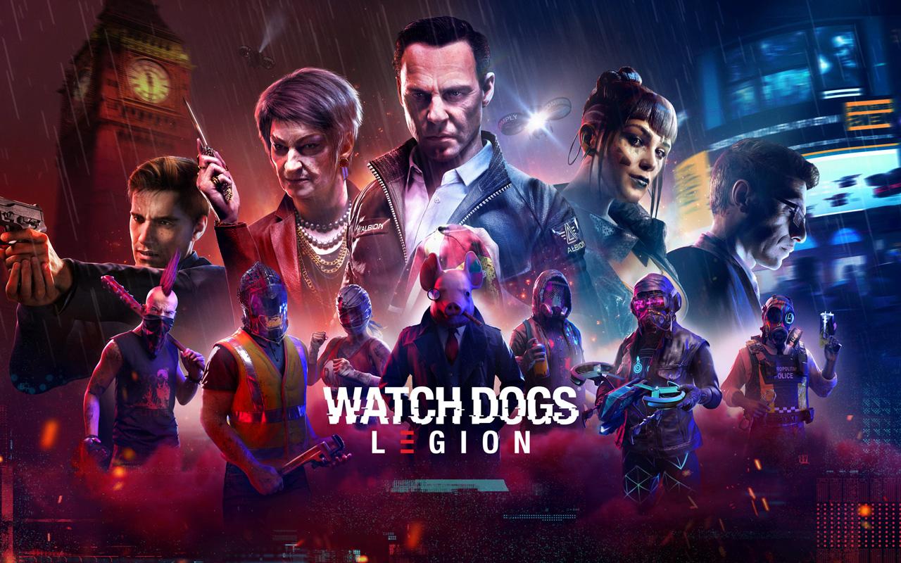Free Watch Dogs Legion Wallpaper in 1280x800