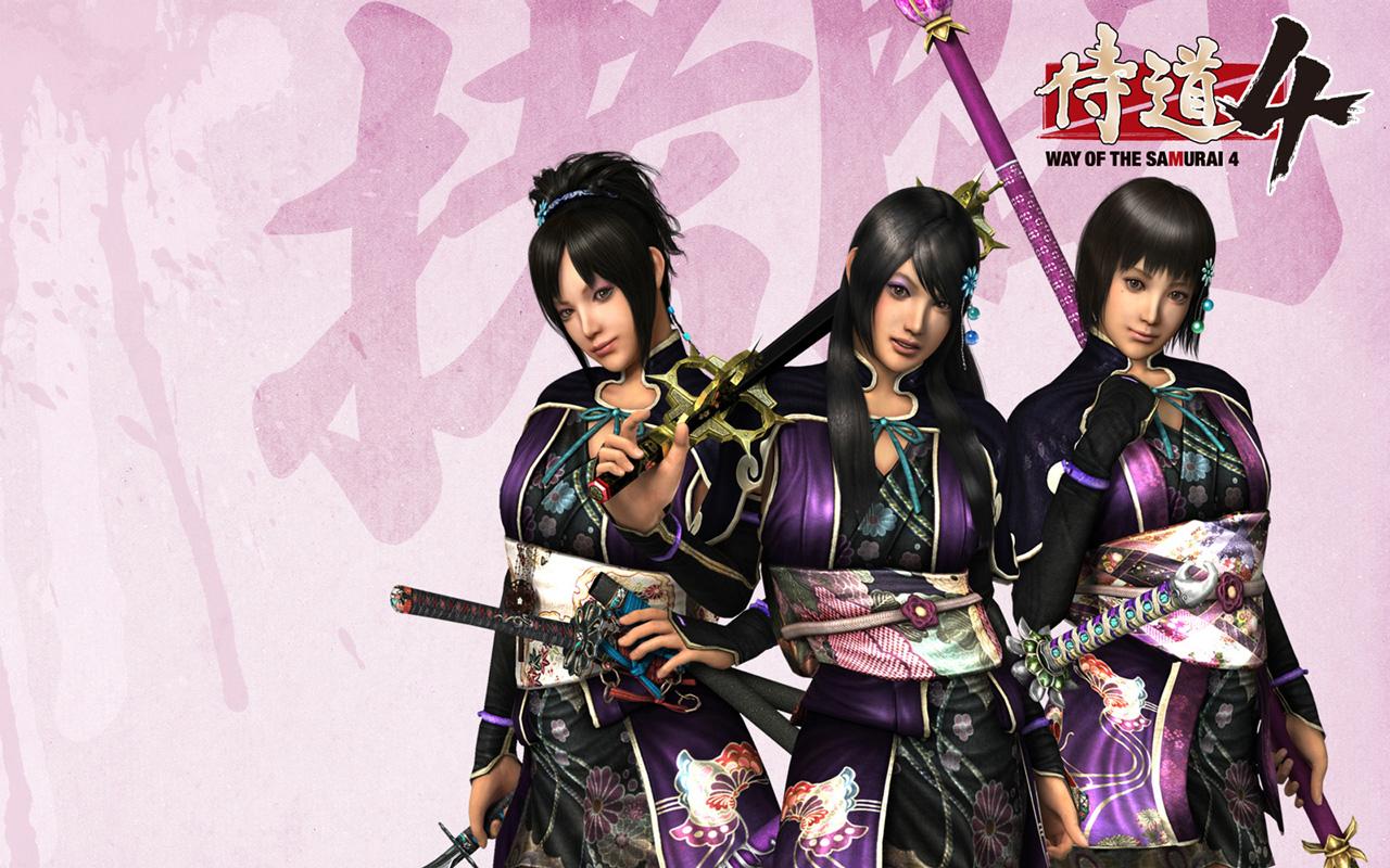 Free Way of the Samurai 4 Wallpaper in 1280x800