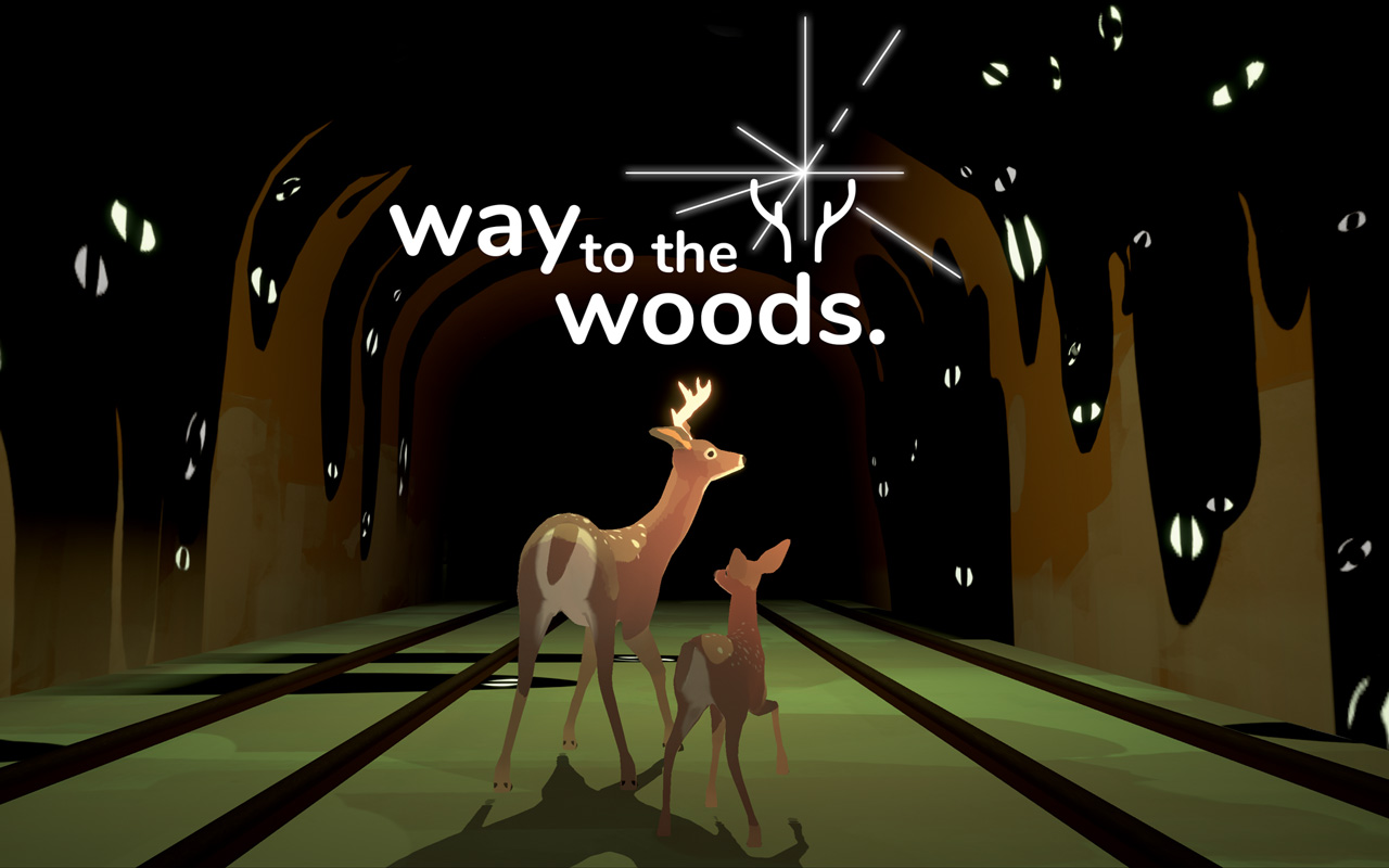 Free Way to the Woods Wallpaper in 1280x800
