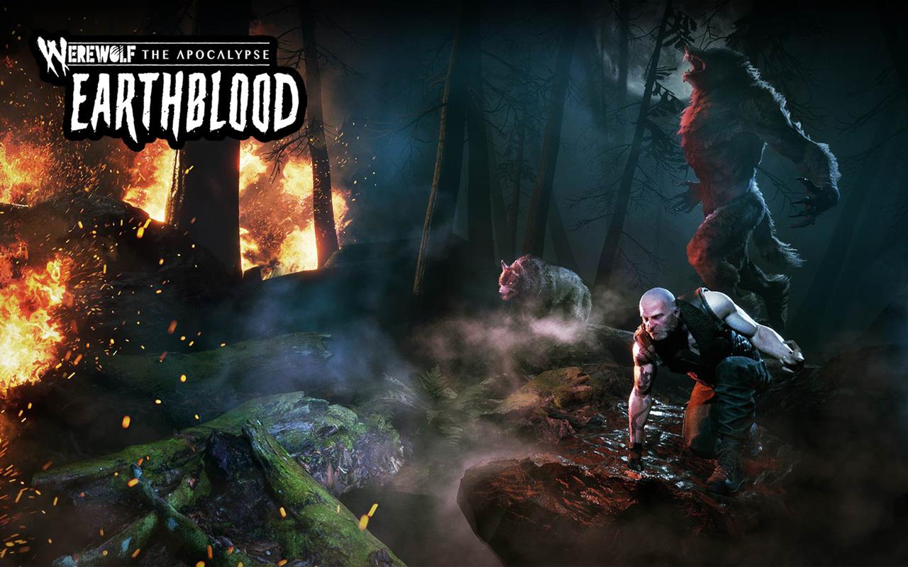 Free Werewolf: The Apocalypse - Earthblood Wallpaper in 1280x800