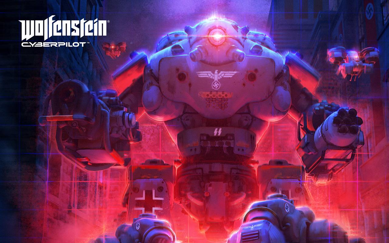 Free Wolfenstein: Cyberpilot Wallpaper in 1280x800