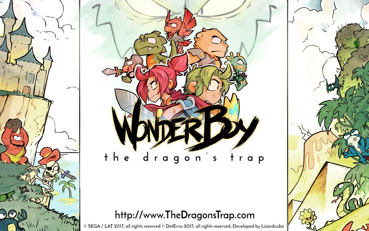 Free Wonder Boy: The Dragon's Trap Wallpaper in 1280x800