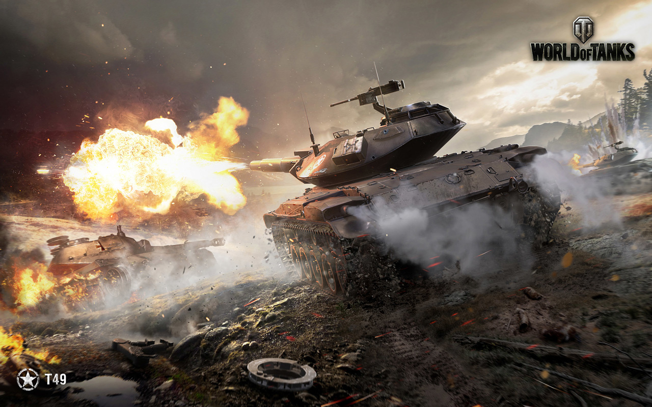 Free World of Tanks Wallpaper in 1280x800