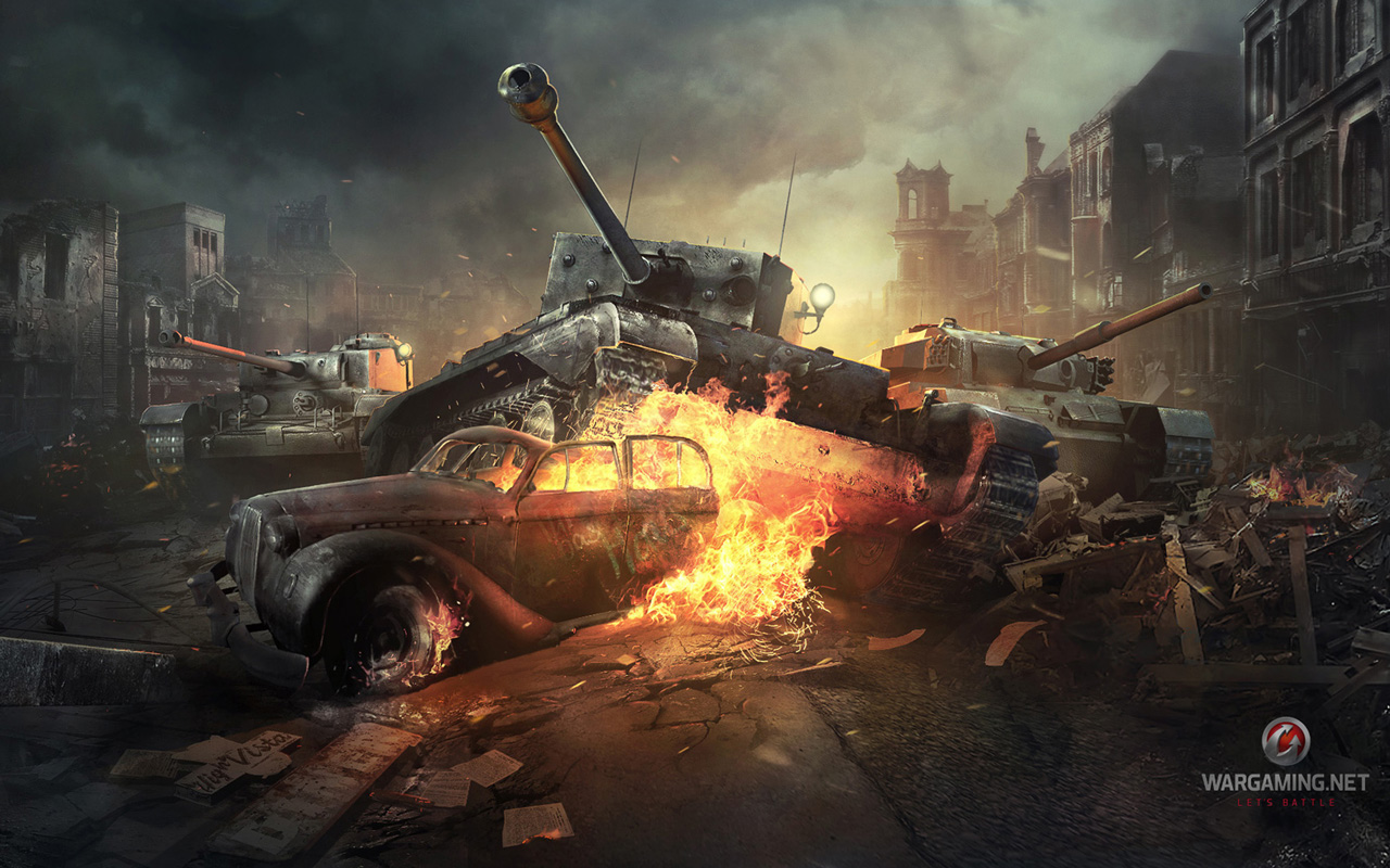 Free World of Tanks Wallpaper in 1280x800