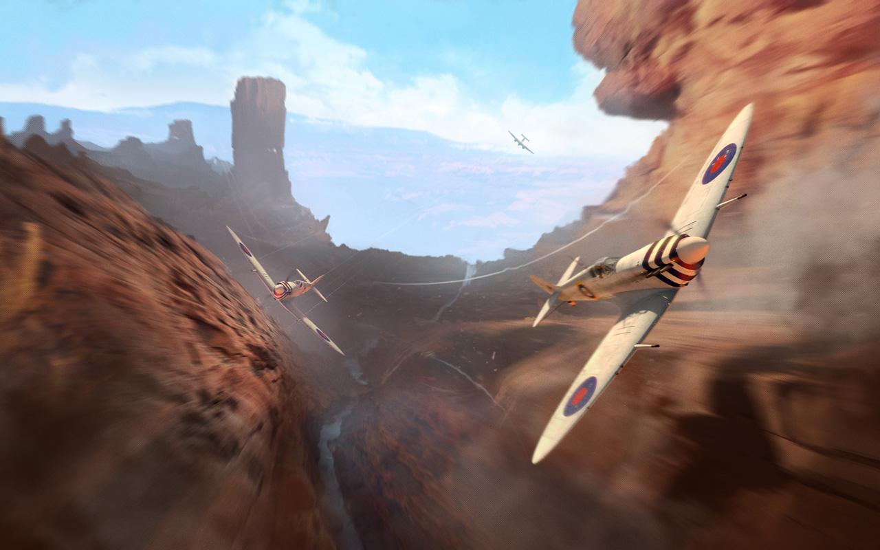 Free World of Warplanes Wallpaper in 1280x800