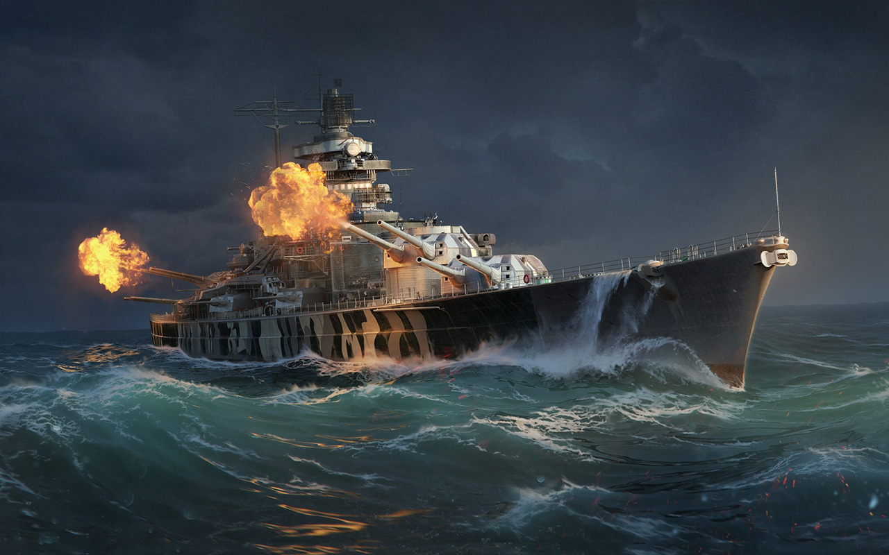Free World of Warships Wallpaper in 1280x800