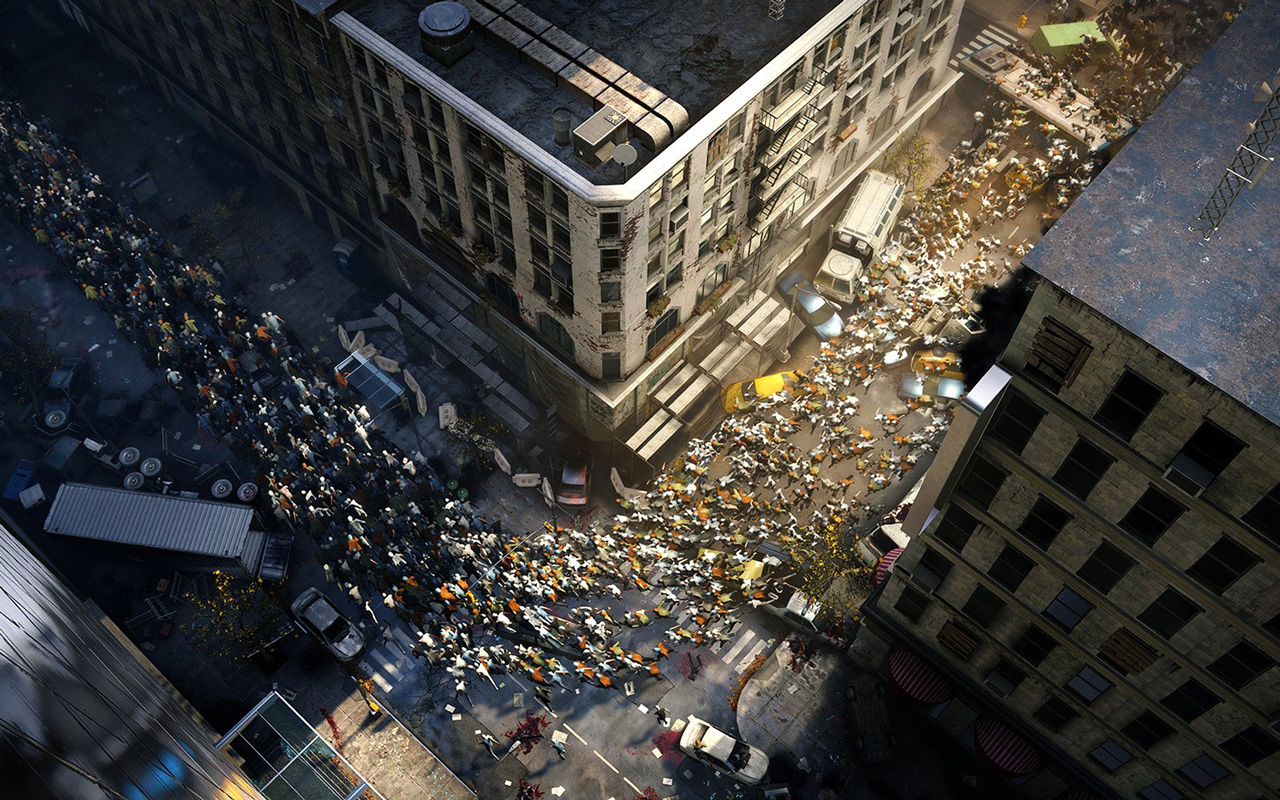 Free World War Z Wallpaper in 1280x800