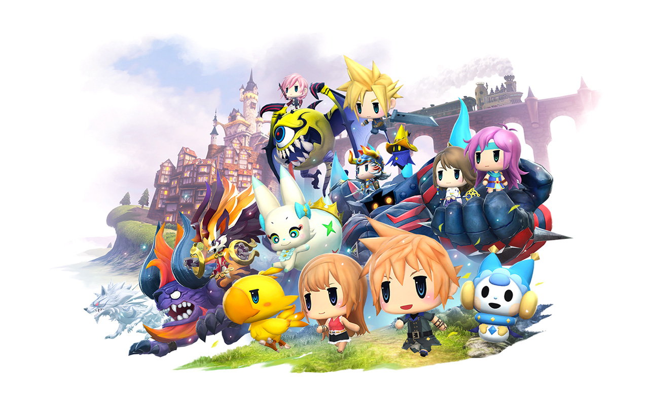 Free World of Final Fantasy Wallpaper in 1280x800