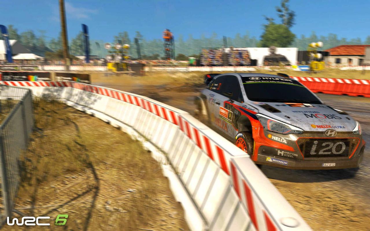 WRC 6 Wallpaper in 1280x800