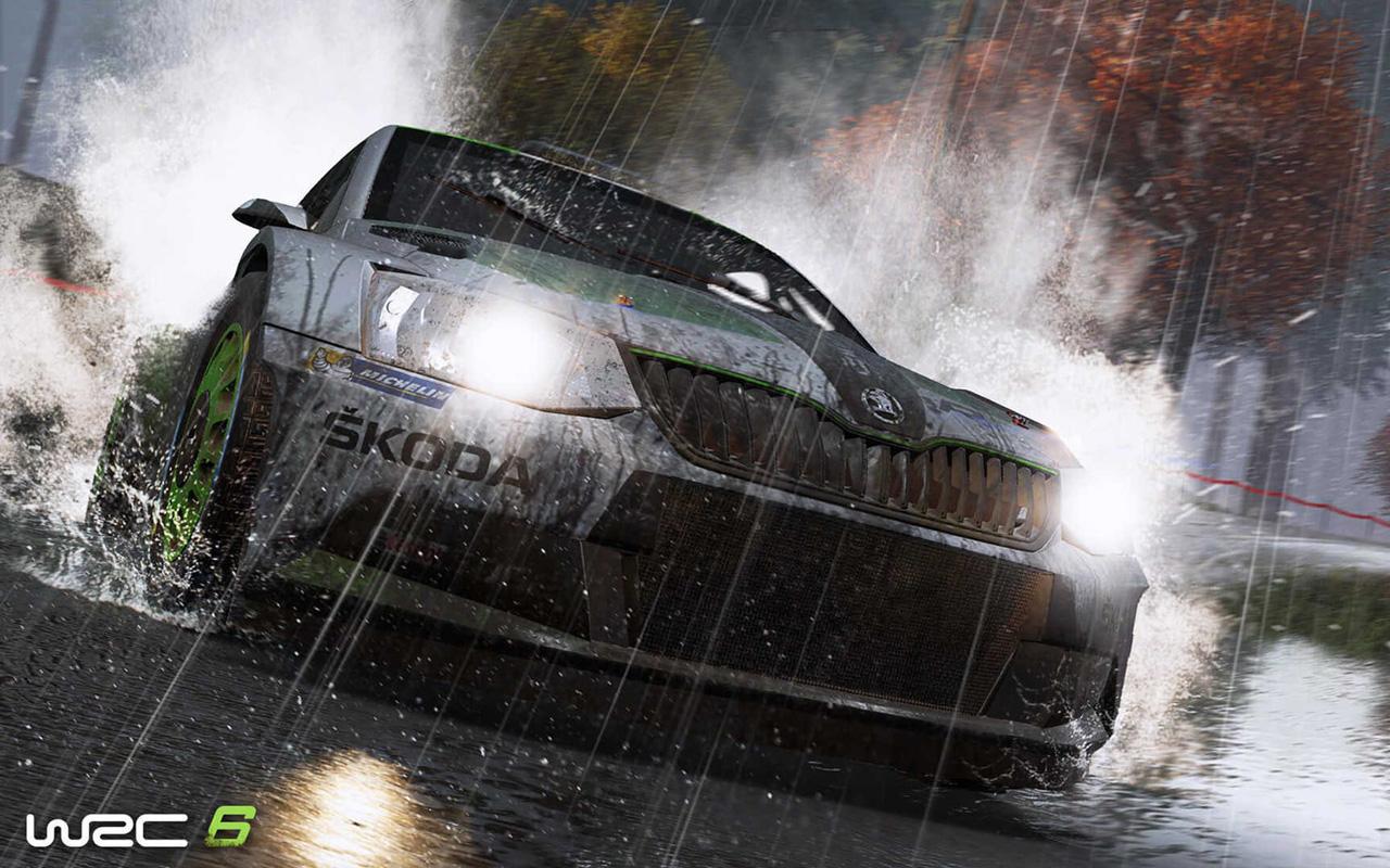 Free WRC 6 Wallpaper in 1280x800