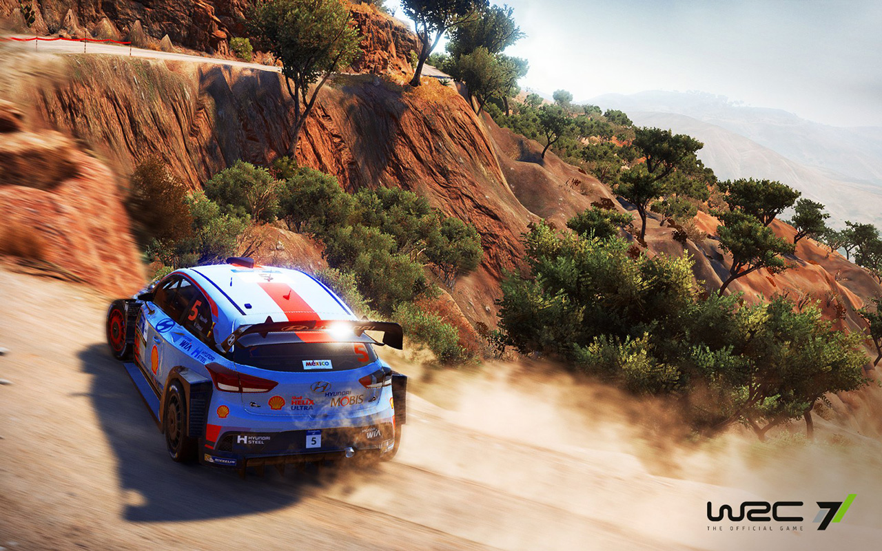 Free WRC 7 Wallpaper in 1280x800