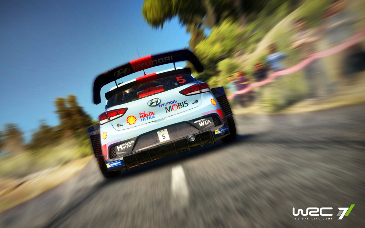 Free WRC 7 Wallpaper in 1280x800