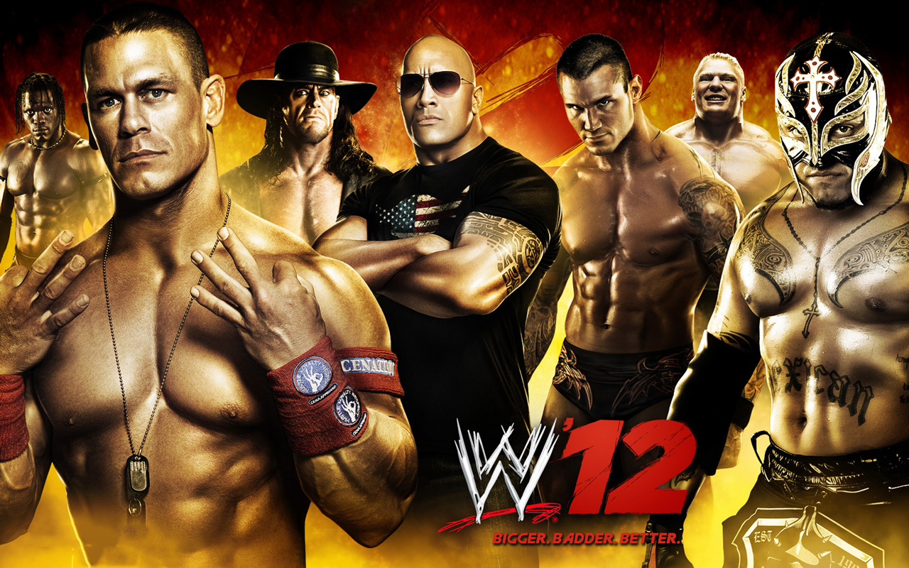 Free WWE '12 Wallpaper in 1280x800