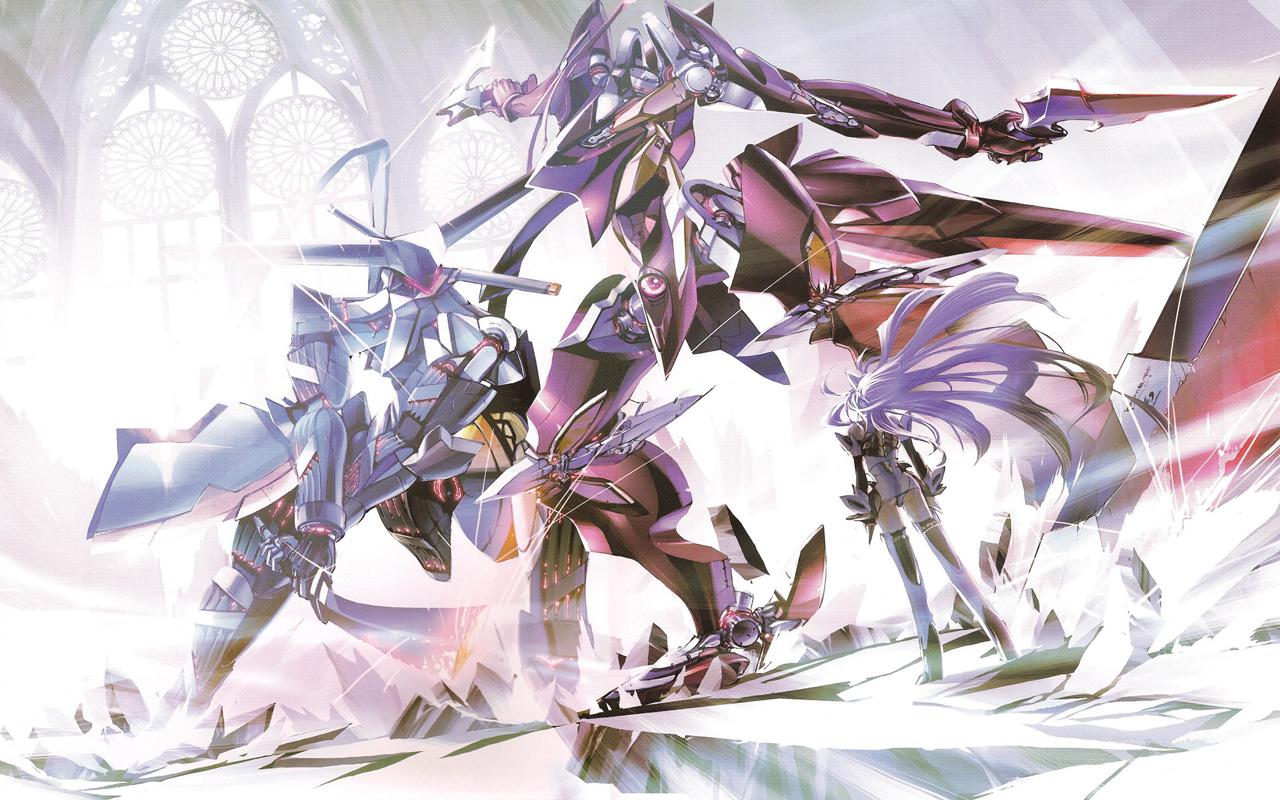 Free Xenosaga Episode III: Also sprach Zarathustra Wallpaper in 1280x800