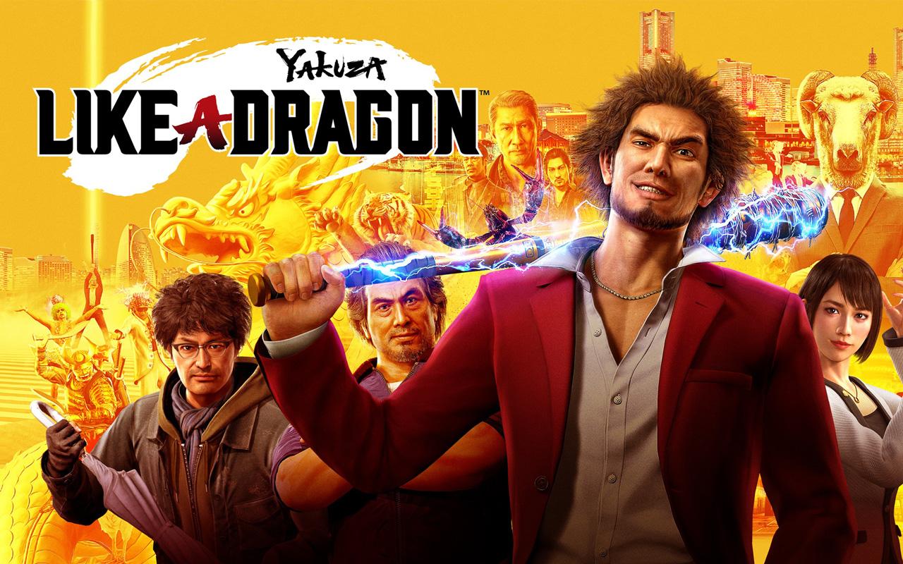Free Yakuza: Like a Dragon Wallpaper in 1280x800