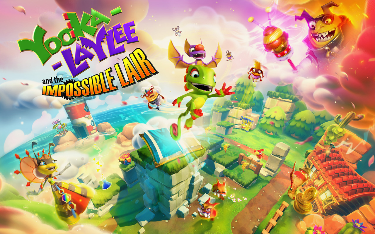 Free Yooka-Laylee and the Impossible Lair Wallpaper in 1280x800