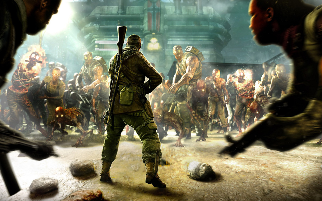 Free Zombie Army 4: Dead War Wallpaper in 1280x800