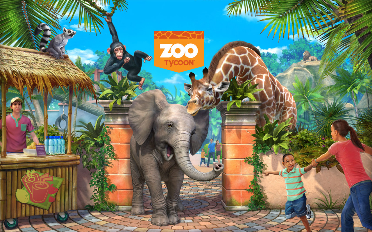 Free Zoo Tycoon Wallpaper in 1280x800
