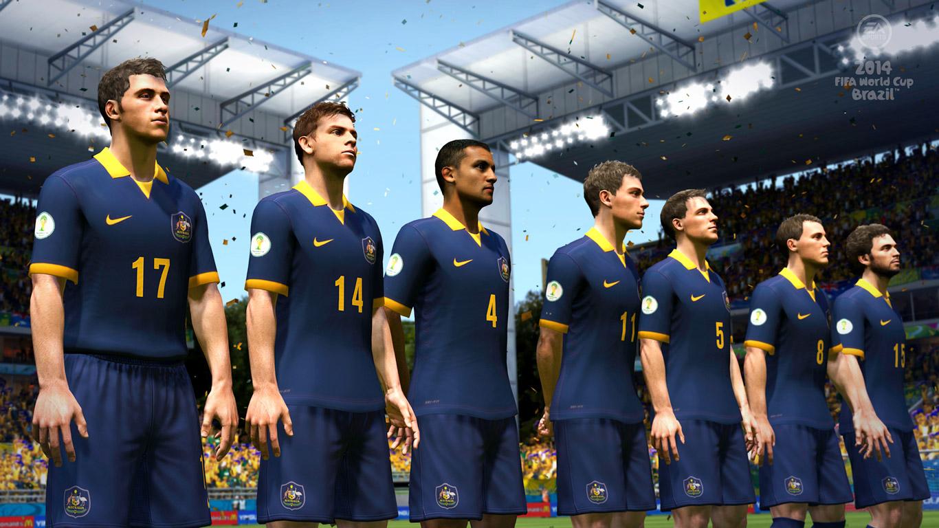 2014 FIFA World Cup Brazil Wallpaper in 1366x768