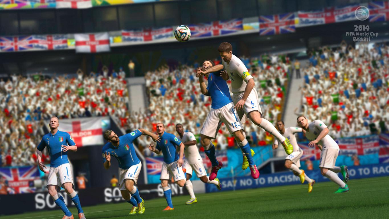 Free 2014 FIFA World Cup Brazil Wallpaper in 1366x768