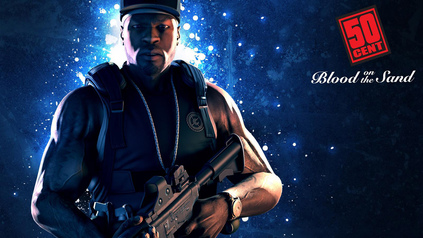50 Cent: Blood on the Sand Wallpaper in 1366x768
